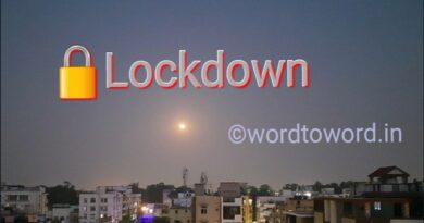 Lockdown in states